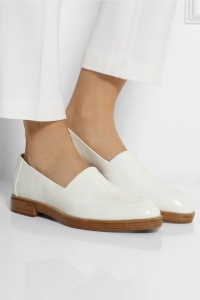 Find here:  http://www.net-a-porter.com/product/401305/Alexander_Wang/patent-leather-loafers